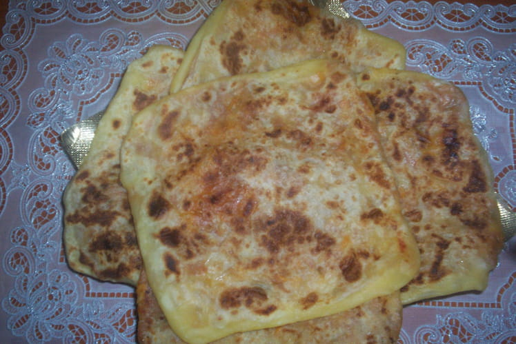 Crêpes marocaines farcies au thon