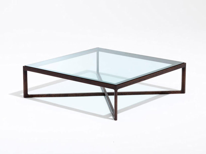 table basse naturelle en verre et bois. Black Bedroom Furniture Sets. Home Design Ideas