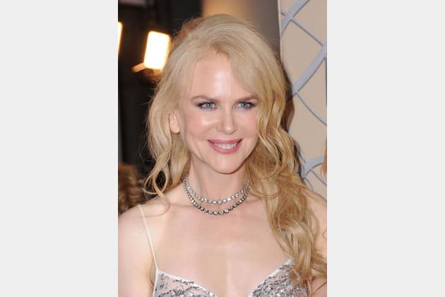 La demi-queue bouclée de Nicole Kidman