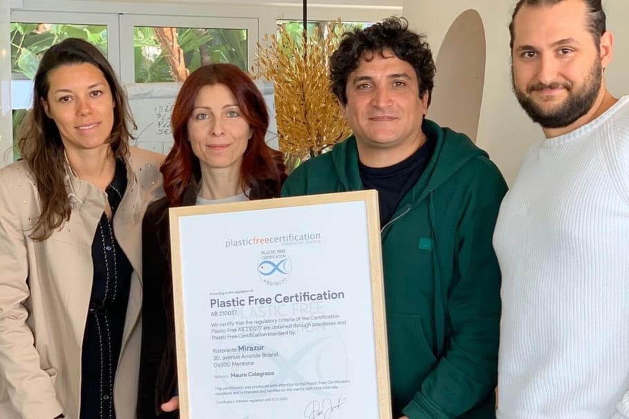 Le Mirazur, premier restaurant sans plastique au monde