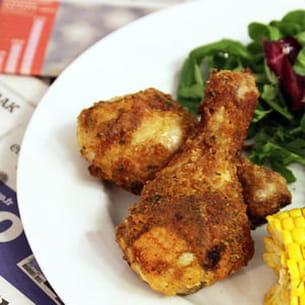 poulet frit au paprika