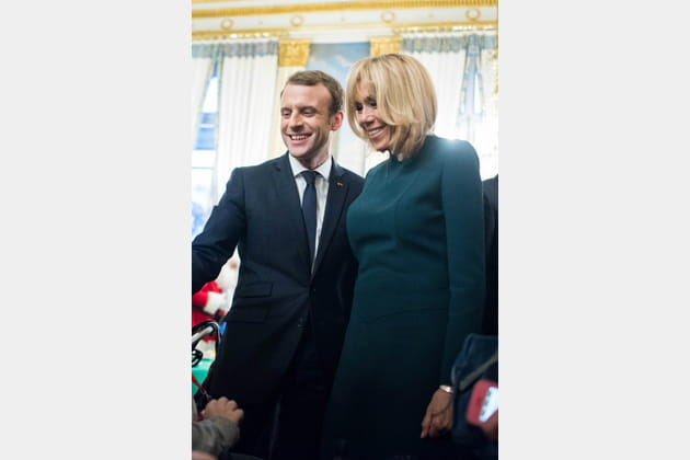 Brigitte Macron le 13décembre 2017