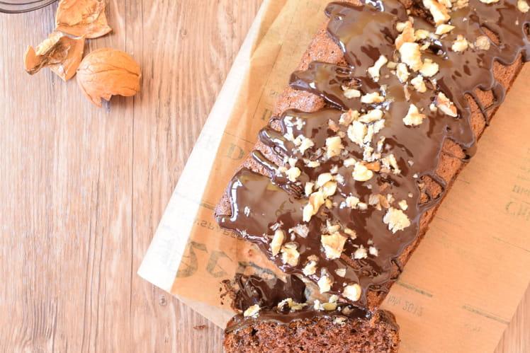 Cake à la banane et au chocolat sans gluten sans lactose
