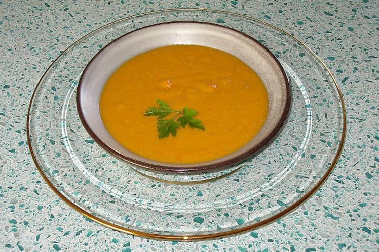 Crème de carotte à l'orange