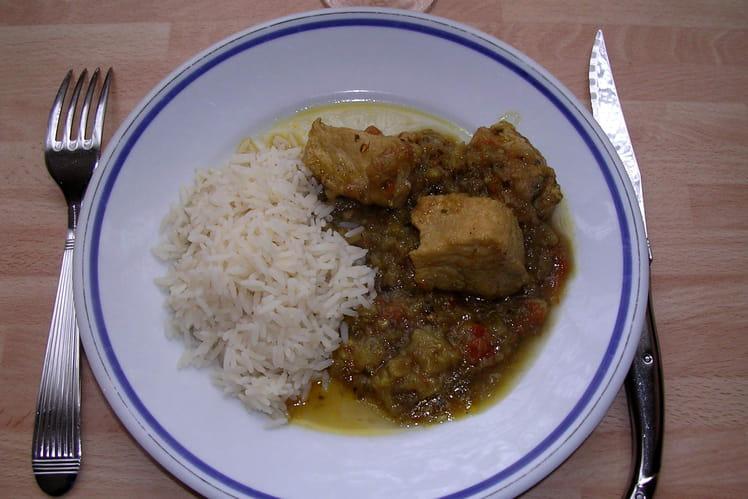 Daube de porc au curry