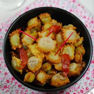 ravioles frites
