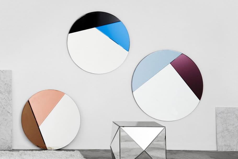 """L'objet du désir : les miroirs """"Nouveau"""" par Reflection by Hugau / Larsson"""