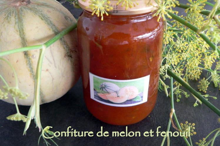 Confiture de melon et fenouil