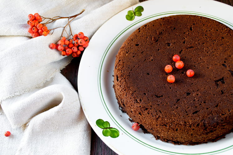 Gâteau sans oeuf au Nesquik