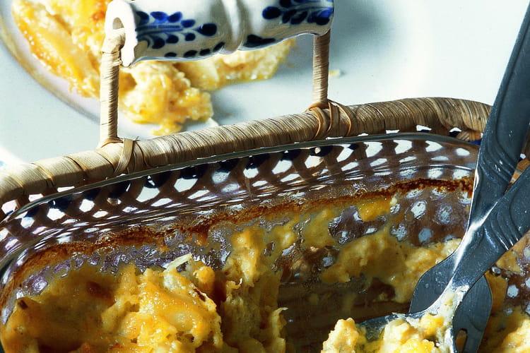 Morue à la crème fraîche (Bacalhau com natas)