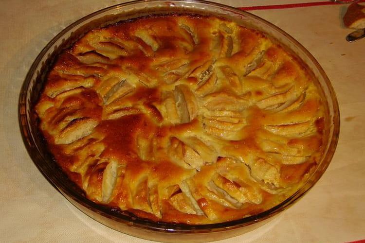 Gâteau aux pommes du dimanche