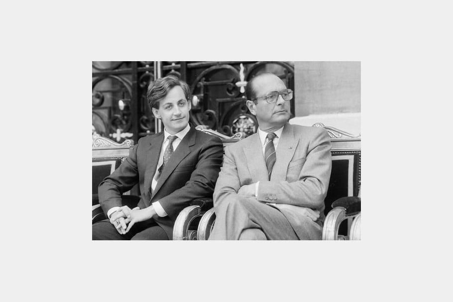 Jacques Chirac : le cas Sarkozy