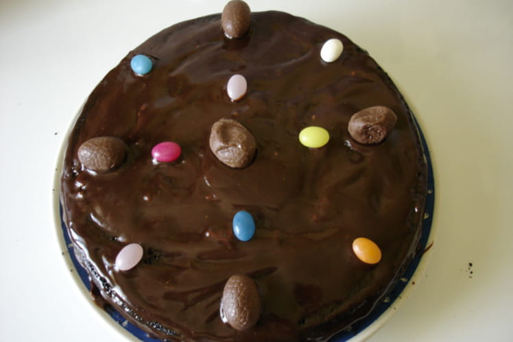 Gâteau au chocolat régressif