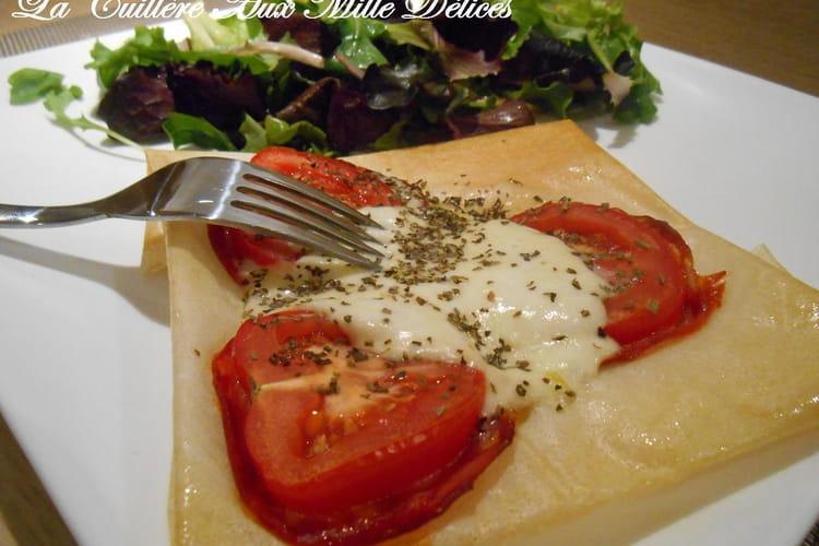 Brick chorizo & mozzarella