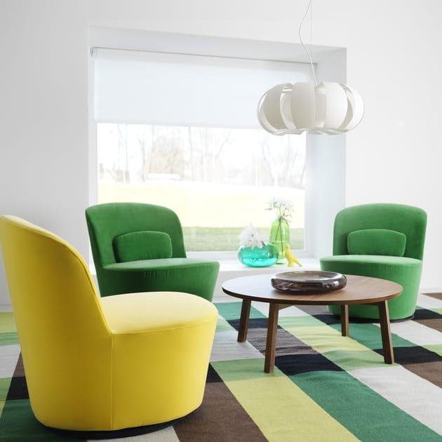 Fauteuil en velours Stockholm par IKEA