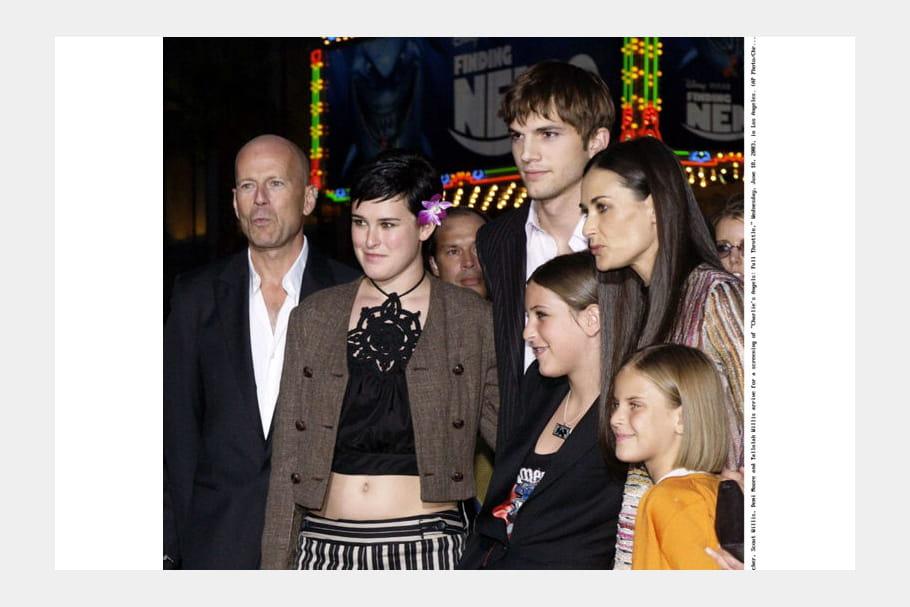 Demi Moore et ses filles Rumer Glenn et Scout LaRue