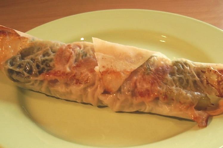 Rouleaux de viande hachée au chou vert