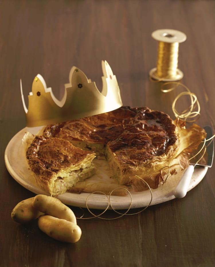 Recette de galette des rois sal e de ratte du touquet la recette facile - Cuisiner la ratte du touquet ...