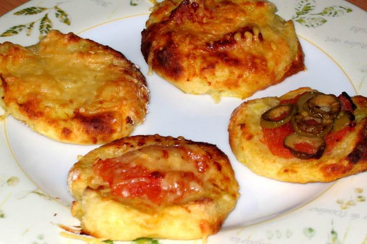 Mini pizzas de pommes de terre