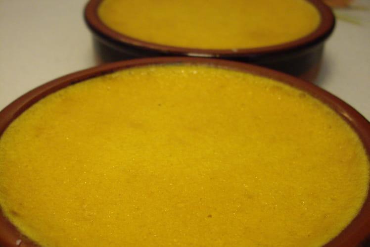 Crème dessert au potimarron