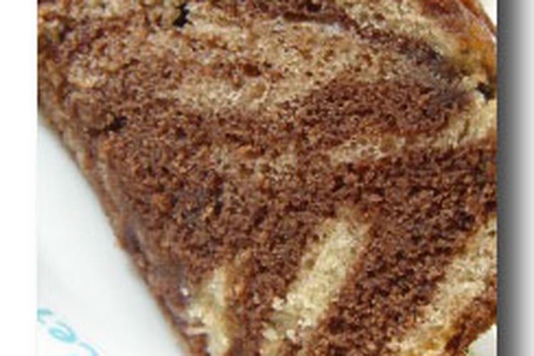 Cake marbré léger