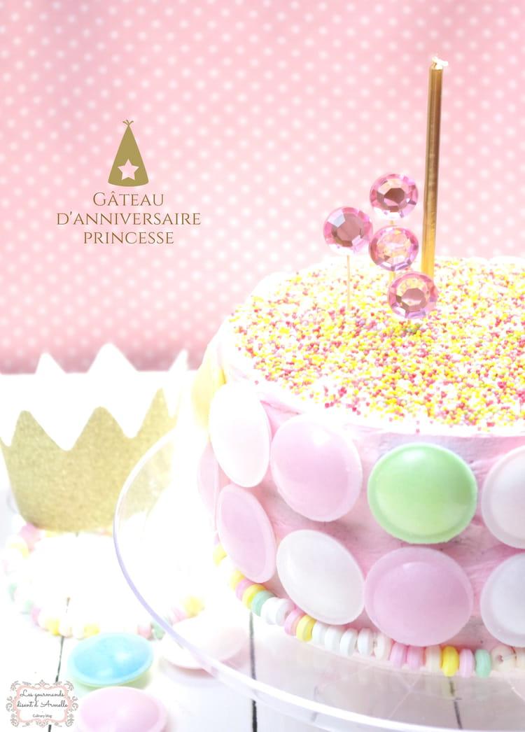 g teau d 39 anniversaire princesse layer cake chocolat. Black Bedroom Furniture Sets. Home Design Ideas