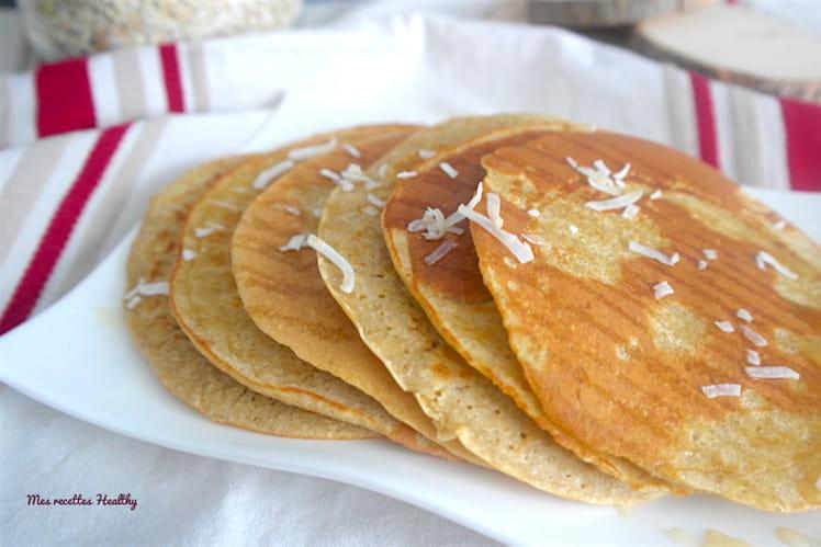 Pancake à l'avoine et à la farine de coco