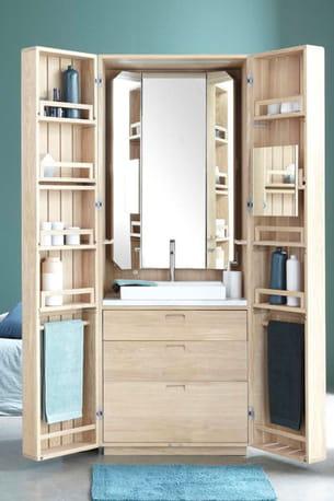 armoire la cabine par line art & la fonction