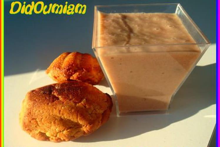 Milkshake choco-banane bio