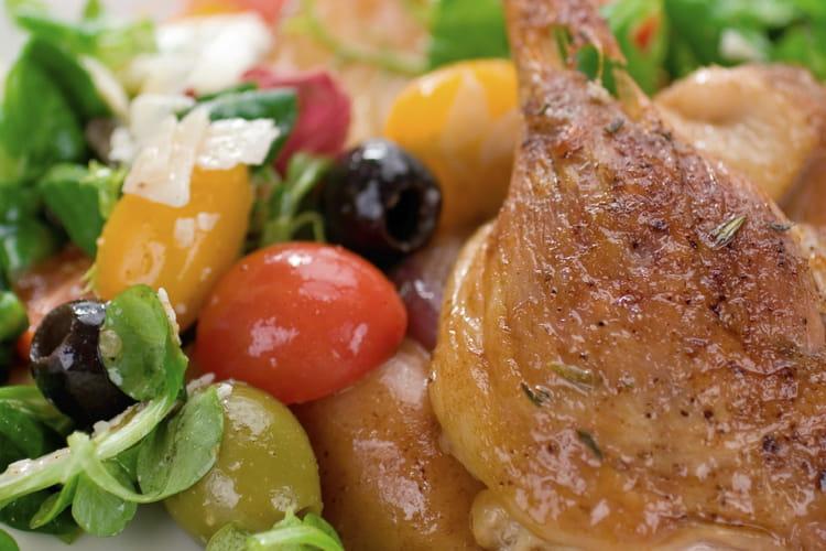 Canard aux dattes et aux olives
