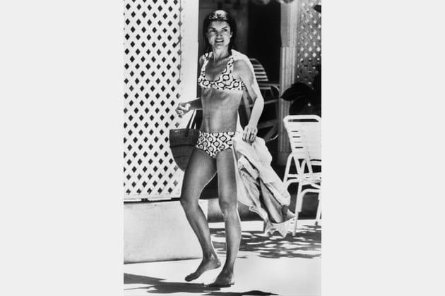 Maillot Bain En De Jackie Kennedy Motifs Psychédéliques À vN8nwyOm0