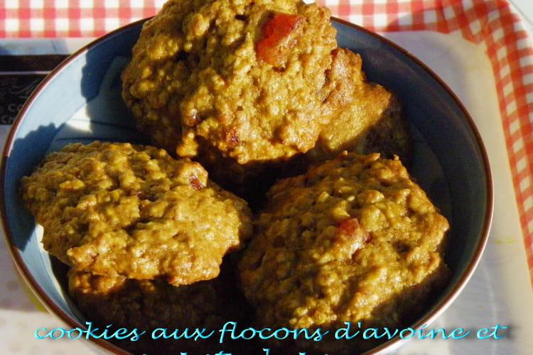 Cookies aux flocons d'avoine et compote de pommes