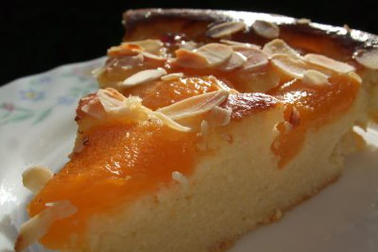 Gâteau aux abricots façon clafoutis