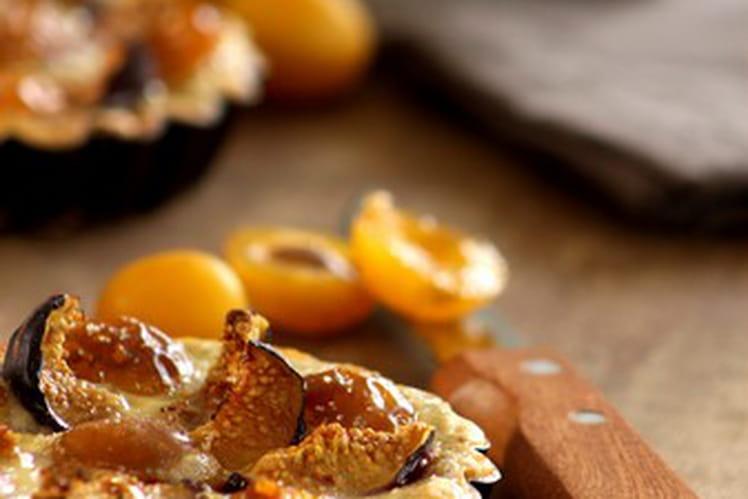 Tartelettes figues et mirabelles