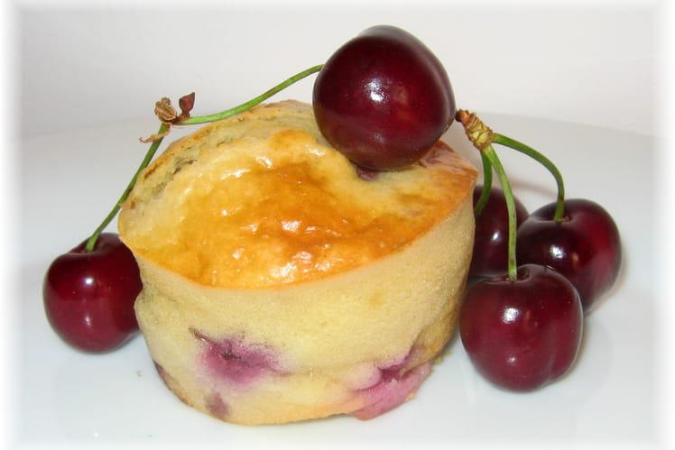 Muffins moelleux à la cerise et mascarpone