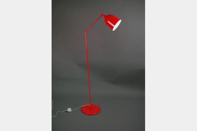 Le lampadaire industriel coloré