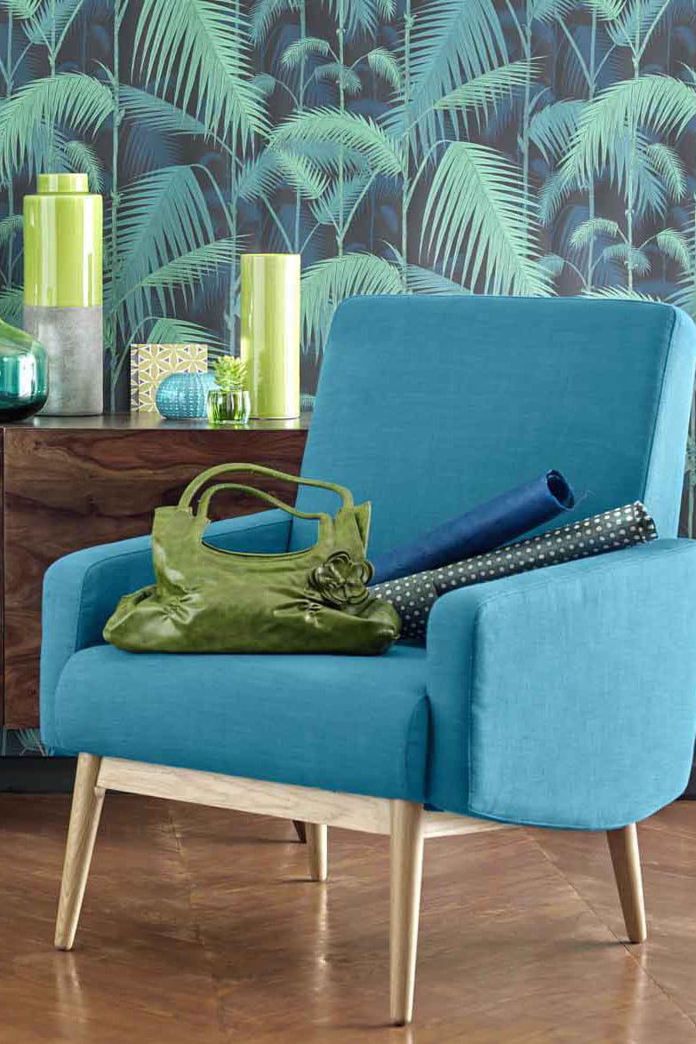 fauteuil vintage kelton de maisons du monde. Black Bedroom Furniture Sets. Home Design Ideas
