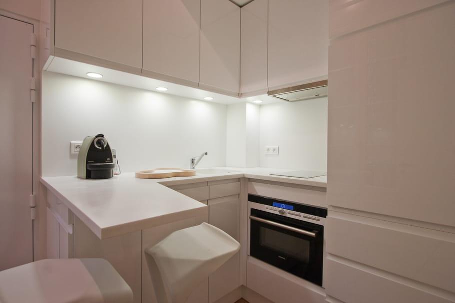 Bien connu idées pour une petite cuisine optimisée et fonctionnelle NI56