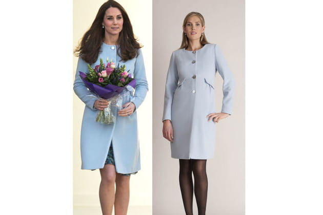 Kate Middleton : un manteau en cachemire