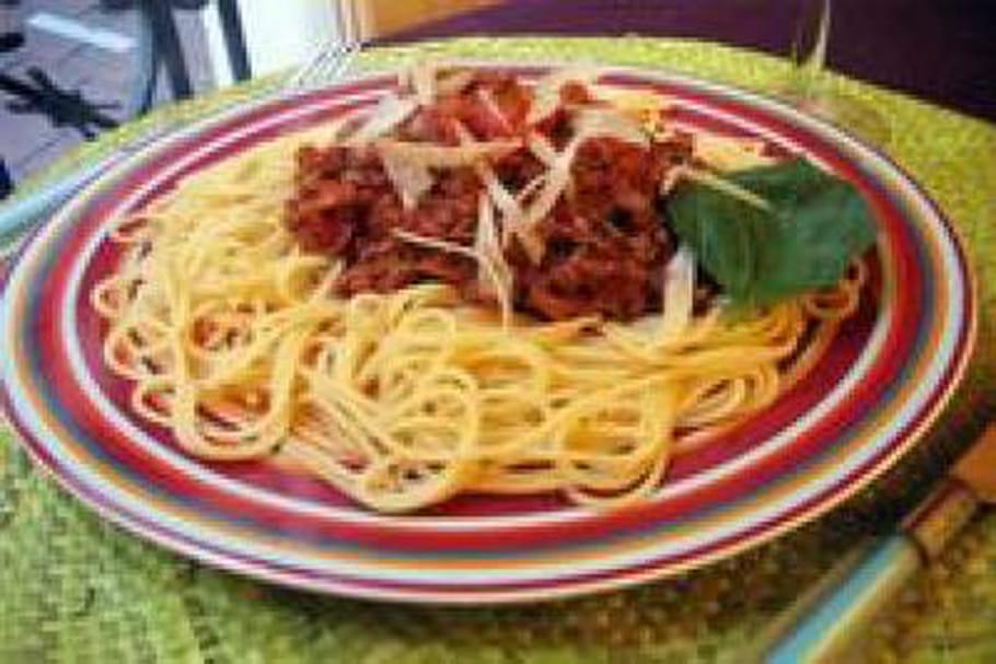 Comment présenter les spaghettis?
