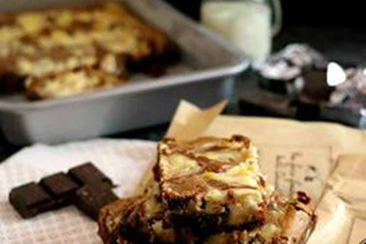 Brownie marbré au Philadelphia Vice et Versa