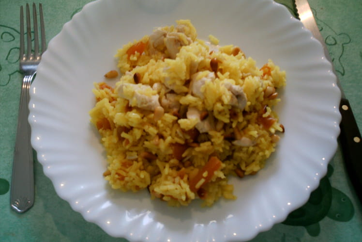 Riz au curry de Roja