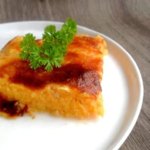 gratin de courge au parmesan
