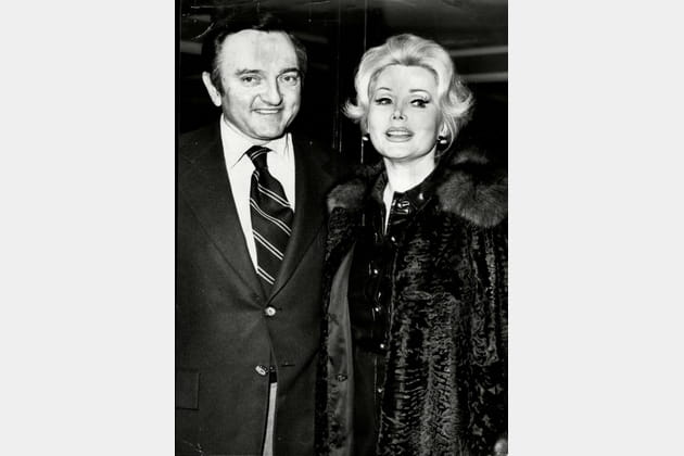 En 1975avec son 6è époux, Jack Ryan