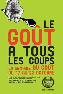 affiche bd semaine du goã»t 2011 verte 220