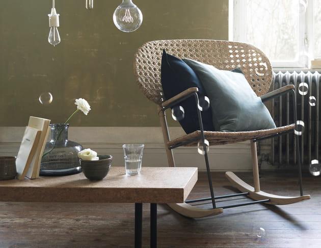 Fauteuil à bascule Grönadak par Ikea