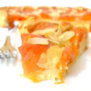 tarte aux abricots et à la frangipane