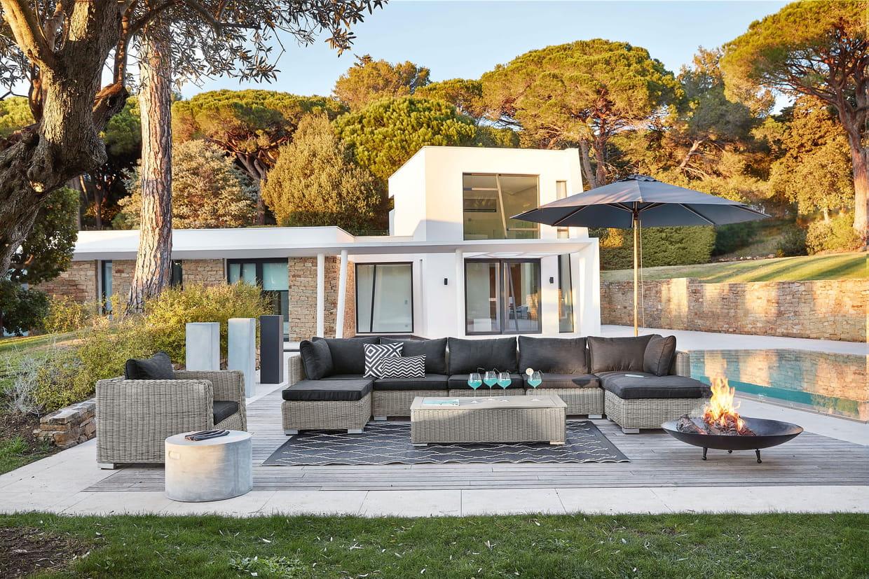salon de jardin cape town maisons du monde. Black Bedroom Furniture Sets. Home Design Ideas