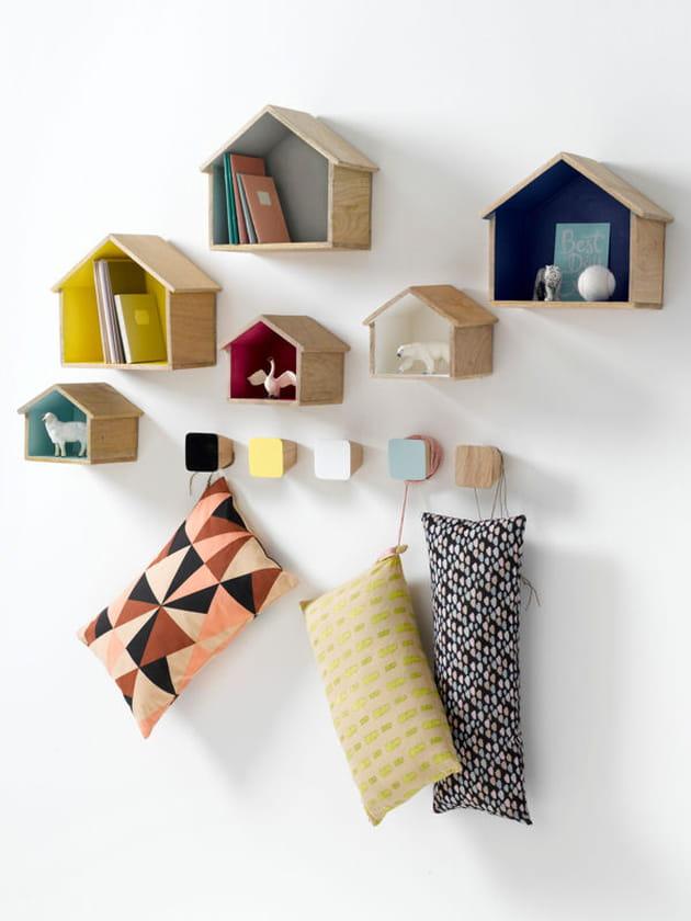 tag res en forme de maisons. Black Bedroom Furniture Sets. Home Design Ideas