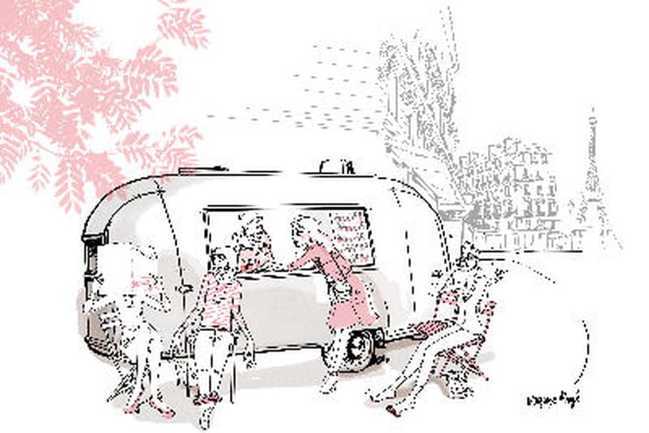 Le nail truck de Gloss up débarque dans les rues de la capitale
